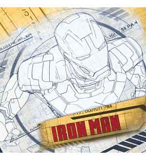 Iron Man 3 Napkin (L)