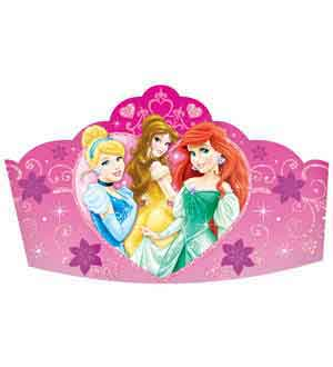 Disney Princess Sparkle Tiara Paper