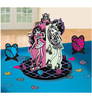 Monster High Table Deco Kit