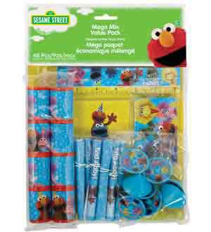 Sesame Street 2 Mega Mix 48ct