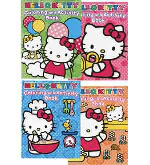 Hello Kitty Coloring Book 96-deduct 207