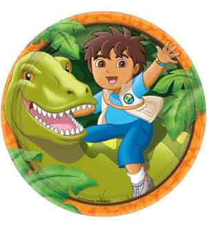Diego Biggest Rescue Plate (L) 8ct