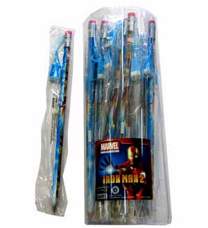 Iron Man 2 Jumbo Pencil W-Sharpener
